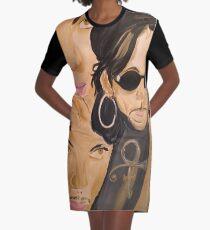 D M B Graphic T-Shirt Dress