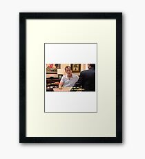 My Gut says no, but it's also very hungry Framed Print