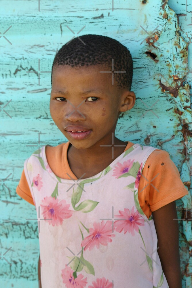 Bushman Girl by Adrianne Yzerman