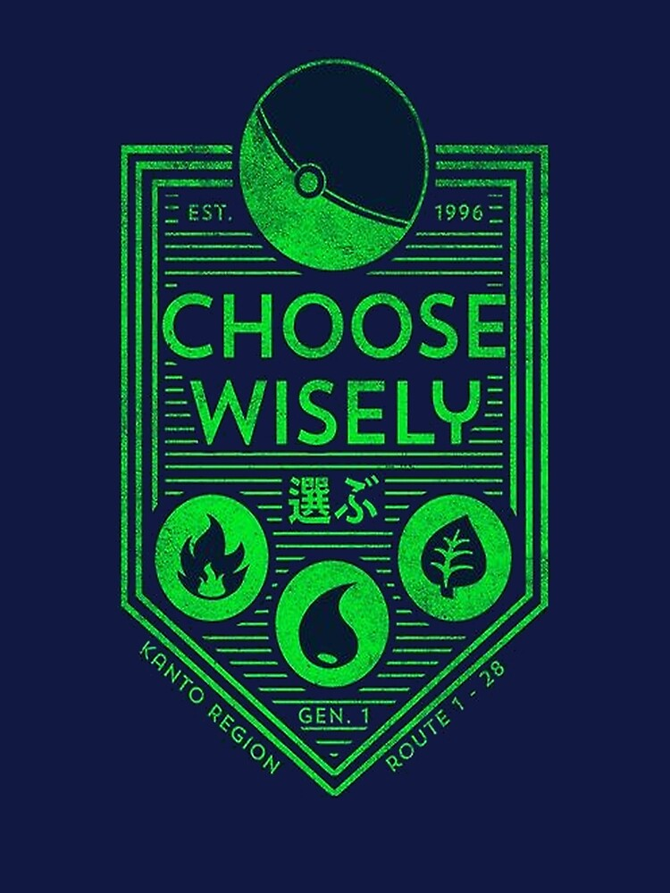 pokemon choose wisely by MasterRacePC