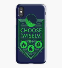 pokemon choose wisely iPhone Case