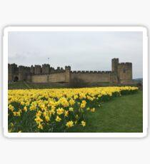 Alnwick castle - Spring Sticker