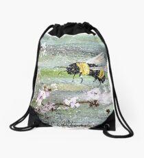 Busy Bee Drawstring Bag