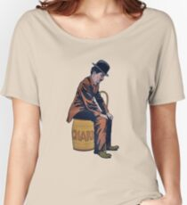 Charlie Chaplin Vintage Women's Relaxed Fit T-Shirt