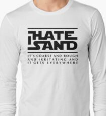 For sand haters (black) Long Sleeve T-Shirt