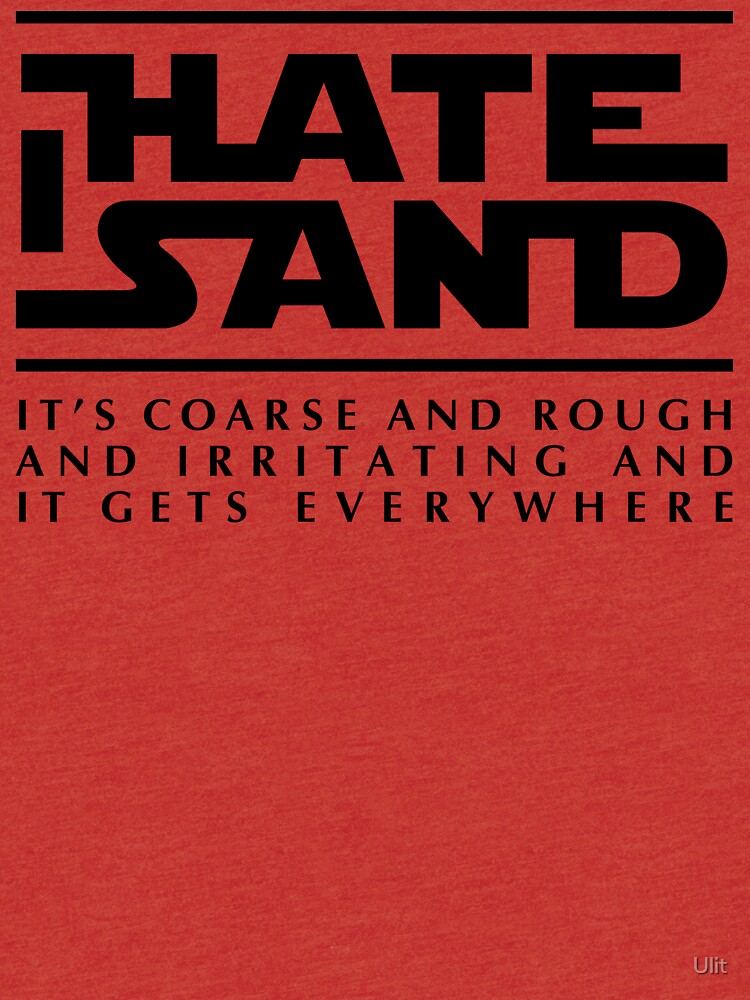 For sand haters (black) by Ulit