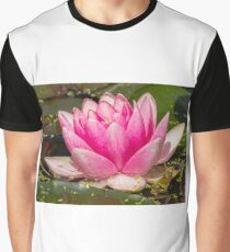 Pink Lotus (Nymphaeaceae) Graphic T-Shirt