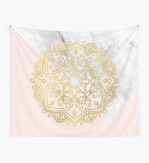 Vogue series - golden mandala Tapestry