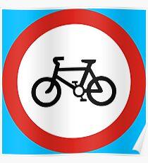 Cycling forbidden Poster