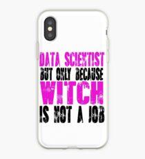Data Scientist Witch iPhone Case