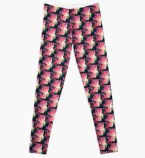 Dramatic Pink Tulips Leggings