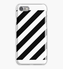 black linen iPhone Case/Skin