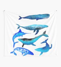 Giants of the deep II Wall Tapestry
