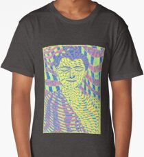 Psychedelic Buddha 2 Long T-Shirt