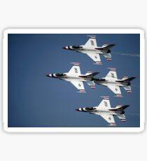 The U.S. Air Force Thunderbird demonstration team. Sticker