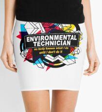 ENVIRONMENTAL TECHNICIAN - NO BODY KNOWS Mini Skirt