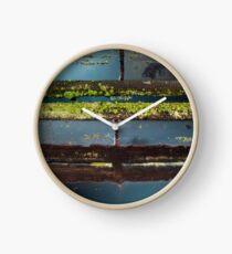 Peatland Abstract 7 Clock