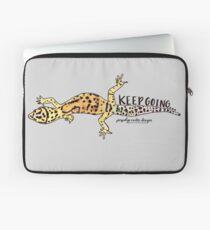 Keep Going Gecko  Laptop Sleeve