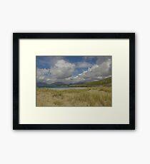 Luskentyre Sands, Isle of Harris, Scotland. Framed Print