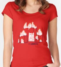 Kitty Cat Cult Women's Fitted Scoop T-Shirt