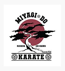 Karate Kid - Miyagi Do Photographic Print
