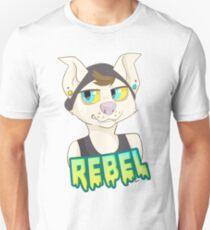 Rebel dog Unisex T-Shirt