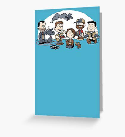 Supernutural Greeting Card