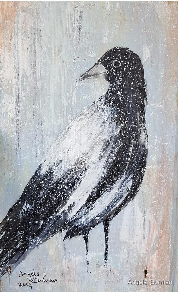 Magpie by Angela  Burman