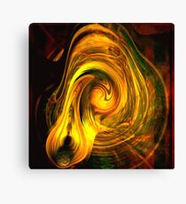 Stirred Whipped and Formed Canvas Print