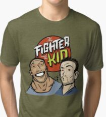 Fighter and the kid Tri-blend T-Shirt
