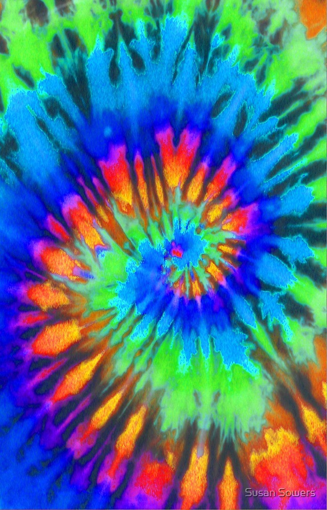 Tie Dye 7 by Susan Sowers