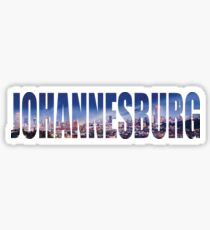 Johannesburg Sticker