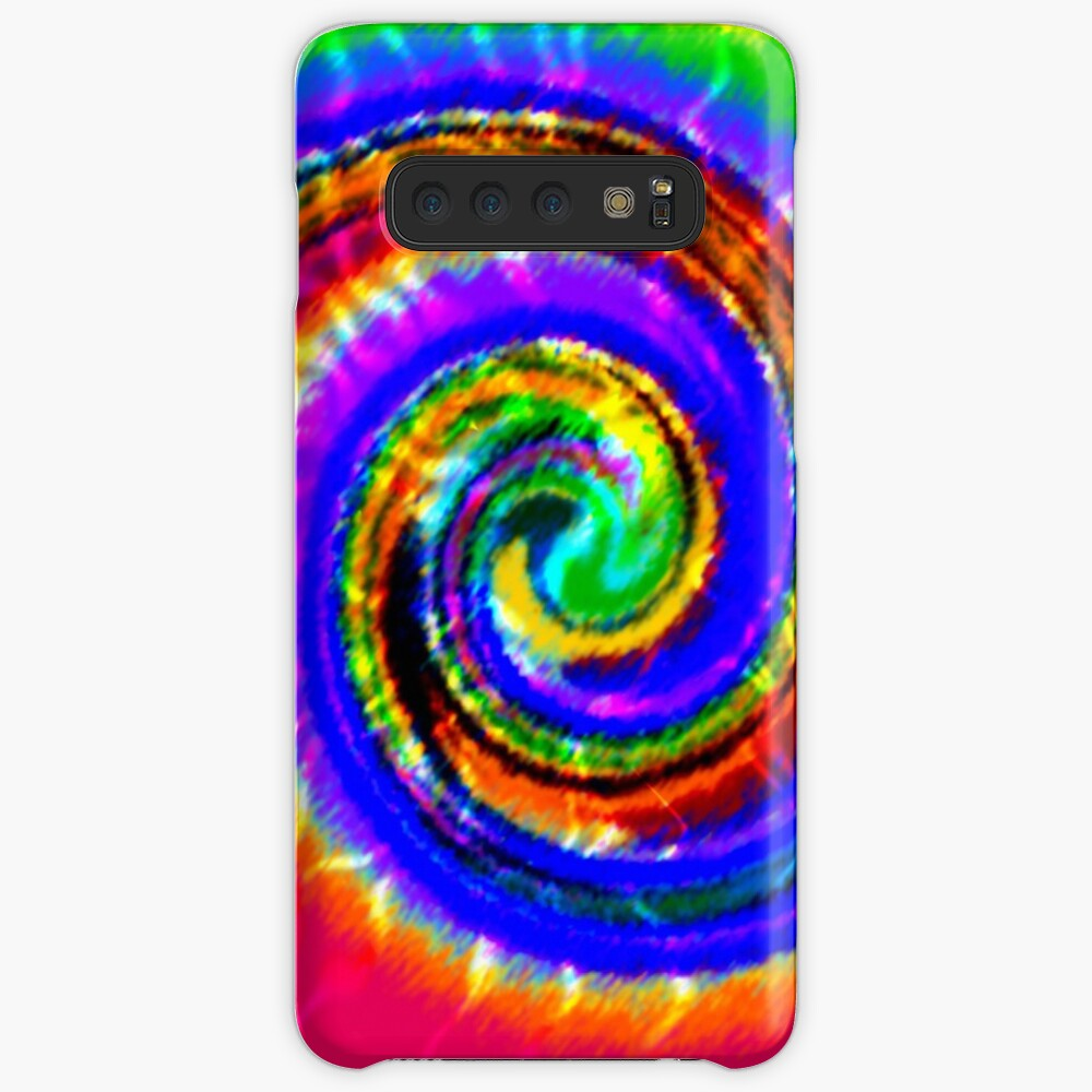 Tie Dye Swirls Case & Skin for Samsung Galaxy
