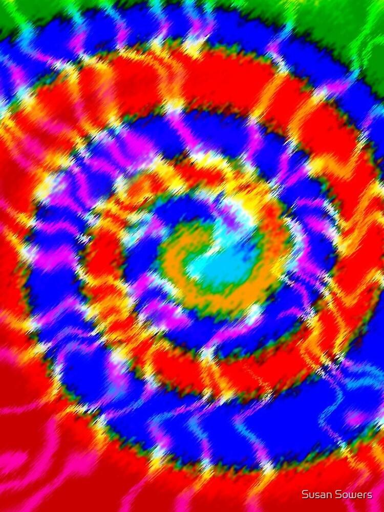 Tie Dye Swirls 3 by SSSowers