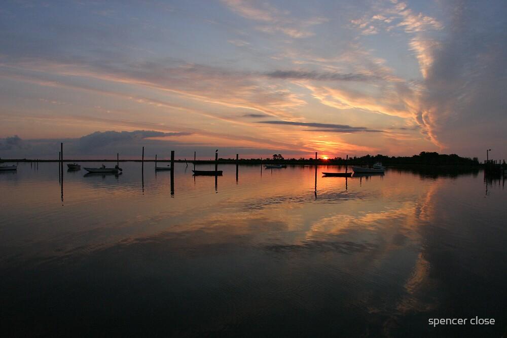 Poquoson sunrise by spencer close