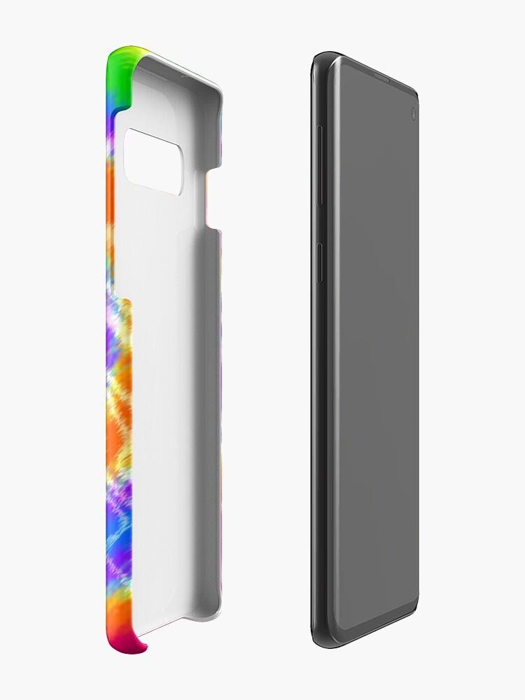 Alternate view of Tie Dye Swirls 4 Case & Skin for Samsung Galaxy