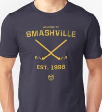 Willkommen in Smashville Slim Fit T-Shirt