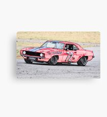 1968 Chevrolet Camaro 'Vintage' Trans Am Canvas Print