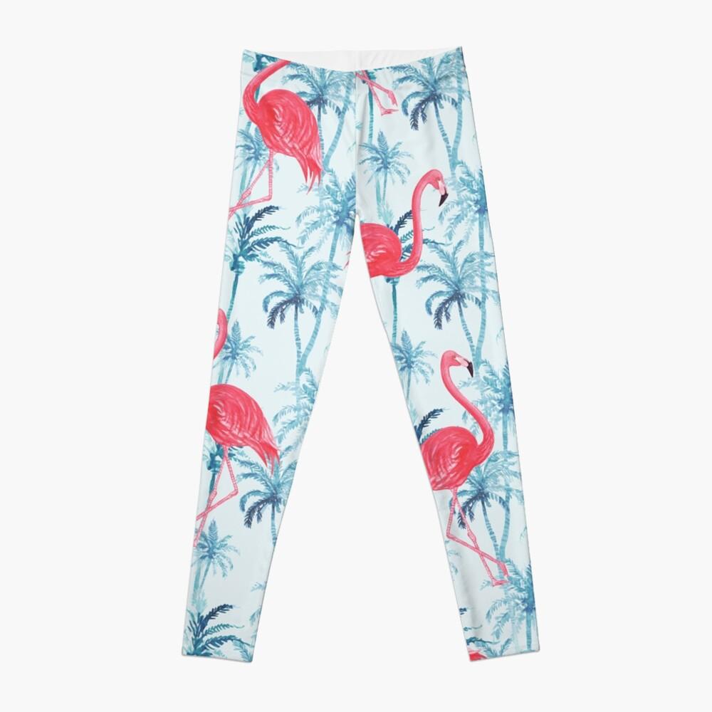 Flamingos in Paradise Leggings