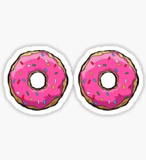Funny Donut Sprinkles Sticker