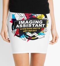 IMAGING ASSISTANT - NO BODY KNOWS Mini Skirt