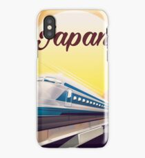 Japan Bullet Train travel poster  iPhone Case/Skin