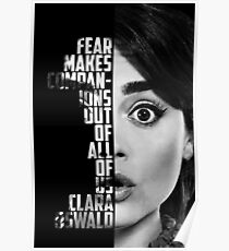 Fear- Clara Oswald Poster