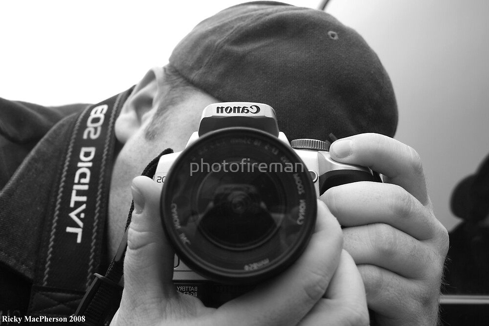 The Man Behind The Camera by photofireman