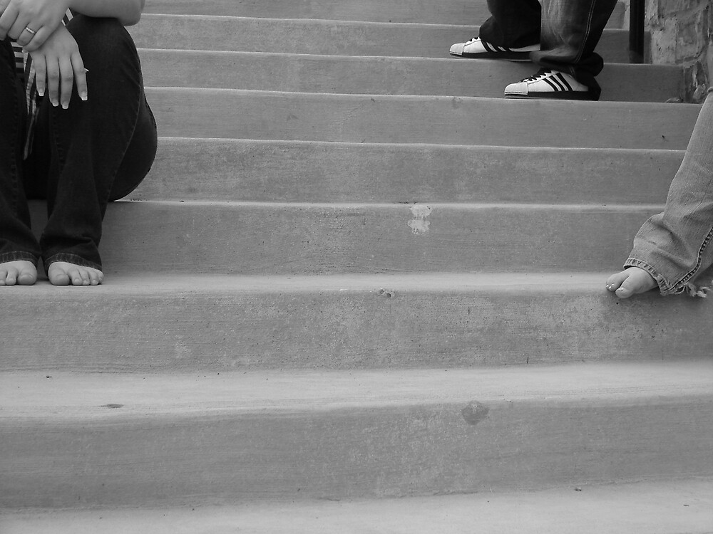 foot steps by bpartain