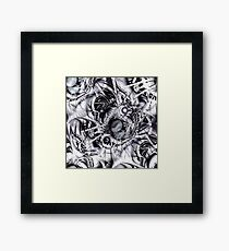 Chaotic Space Framed Print