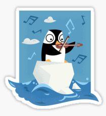 South Pole Musical Penguin Sticker