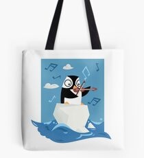 South Pole Musical Penguin Tote Bag