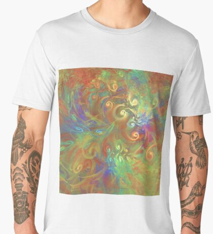 Fractal Flowers Men's Premium T-Shirt
