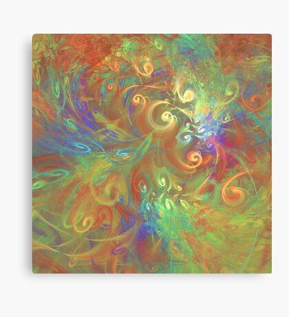 Fractal Flowers Canvas Print
